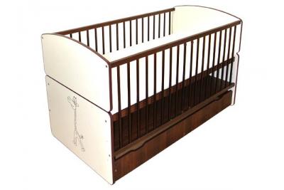 Детская кроватка-трансформер Bartek II Safari Zyrafa.