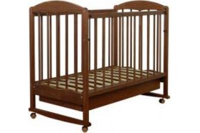 Кровать детская СКВ-Комп арт.120117 цвет орех.