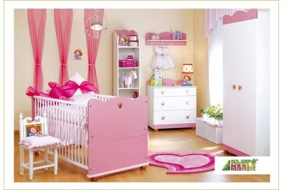 Детская кроватка трансформер Klups Princess 140/70.