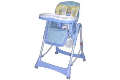 Стульчик  для кормления CARITA Infant Мишки НС21 Yellow blue.