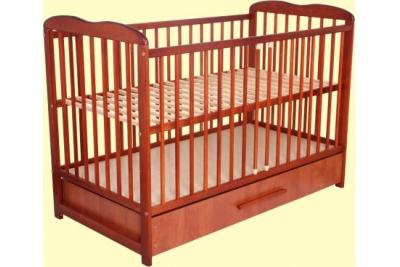 Кроватка детская Bocian Агата с ящиком.