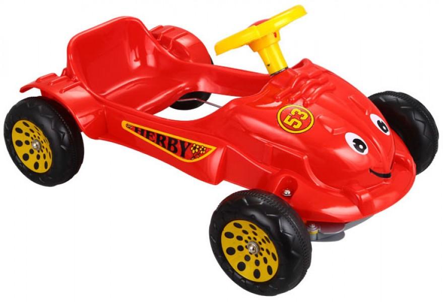 Машина педальная Herby Car  (07-302)