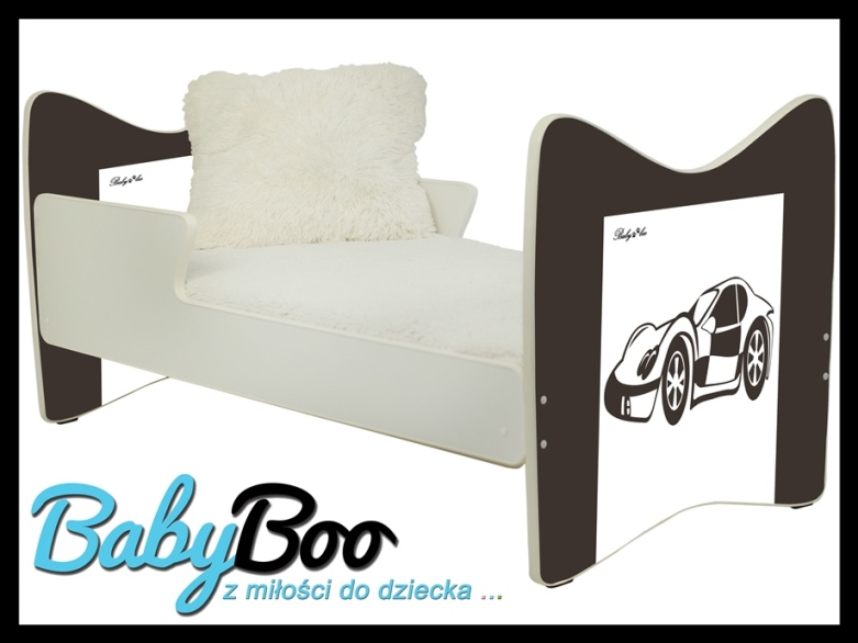 """Кровать подростковая JUNIOR PLUS """" авто"""" 180x90   с матрасом."""
