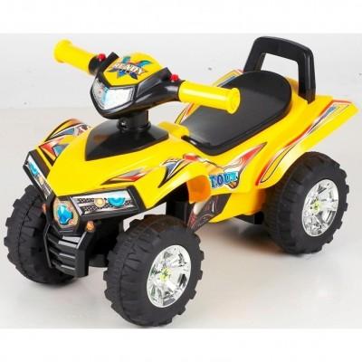Детская машинка-толокар S-line Квадроцикл цвет красный, желтый