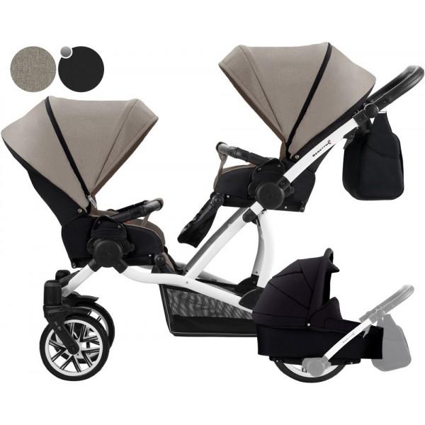 Детская коляска Bebetto 42 для погодок (2 в 1).