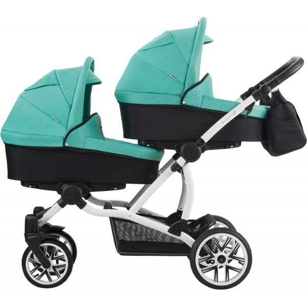 Детская коляска Bebetto 42 для двойни (2 в 1).