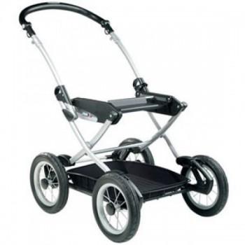 Peg Perego Шасси CLASSICO VELO 58.5 CHASSIS BLACK/GRAY (колёса надувные).