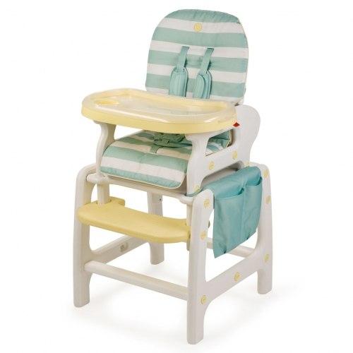 "Стульчик  для кормления Happy Baby ""Oliver"" V2 blue."