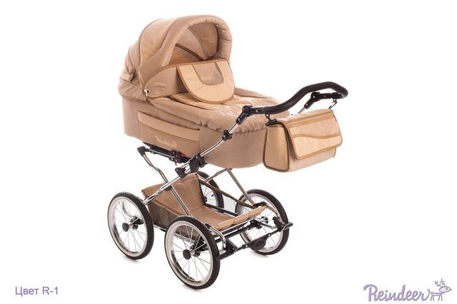"""Детская универсальная коляска Reindeer  """"Retro"""" 2в1."""
