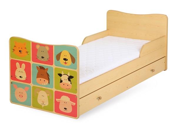 Детская кроватка TIMO зоопарк 160/70