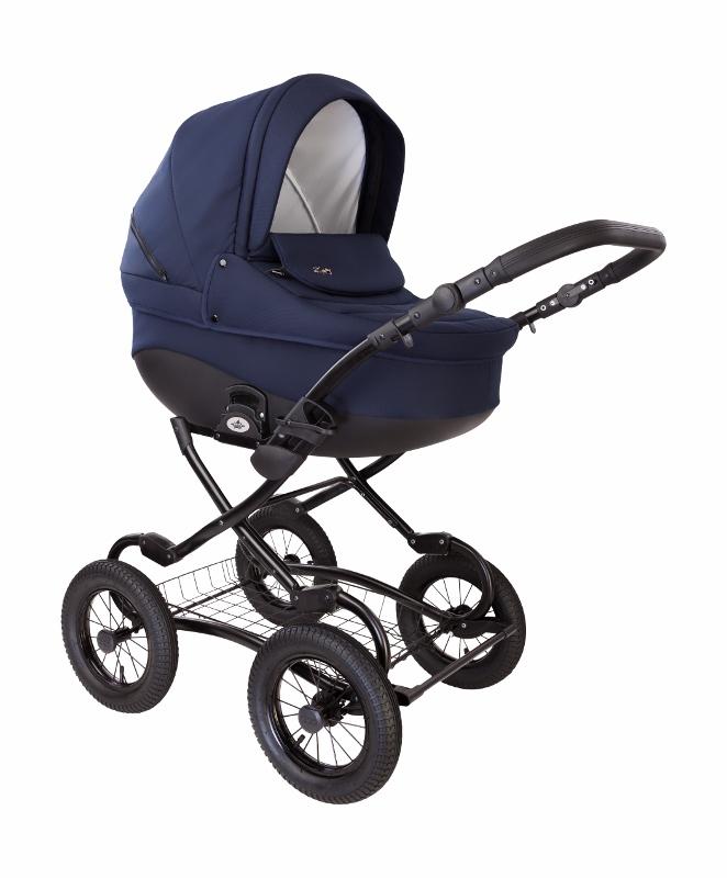 Детская коляска Tutis Classic New короб синий.