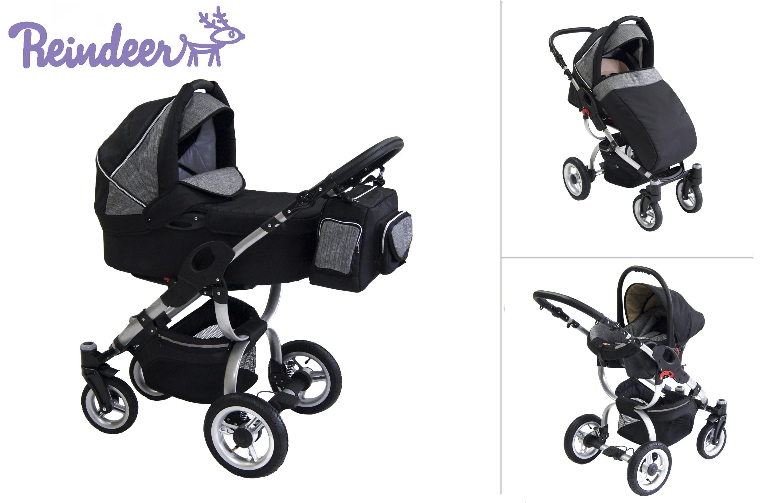 """Детская универсальная коляска Reindeer City """"Cruise"""" 2в1."""