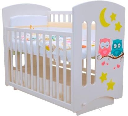 """Кроватка детская Laluca Софи 3 """"Совята"""" (премиум)."""