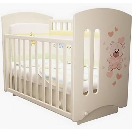 """Детская кроватка Laluca Софи 3 """"Мишка Бэйби"""" (премиум)."""