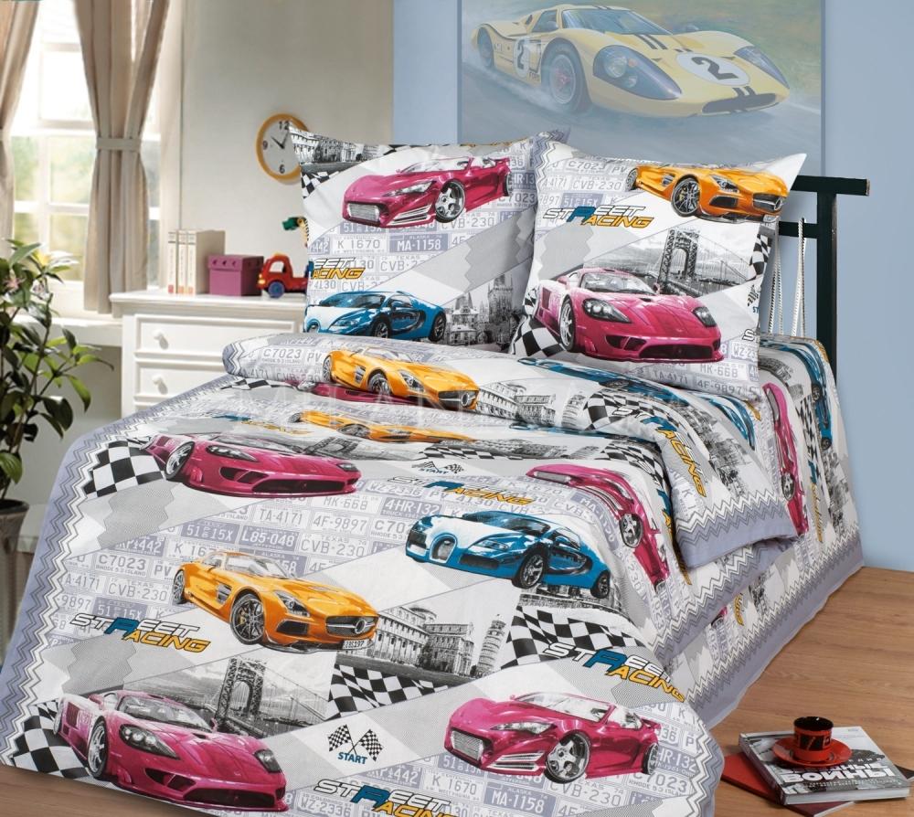 Детское постельное для подростков «Форсаж».