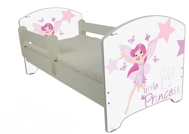 """Кровать детская  модель Оскар """"Маленькая принцесса"""" с матрасом."""