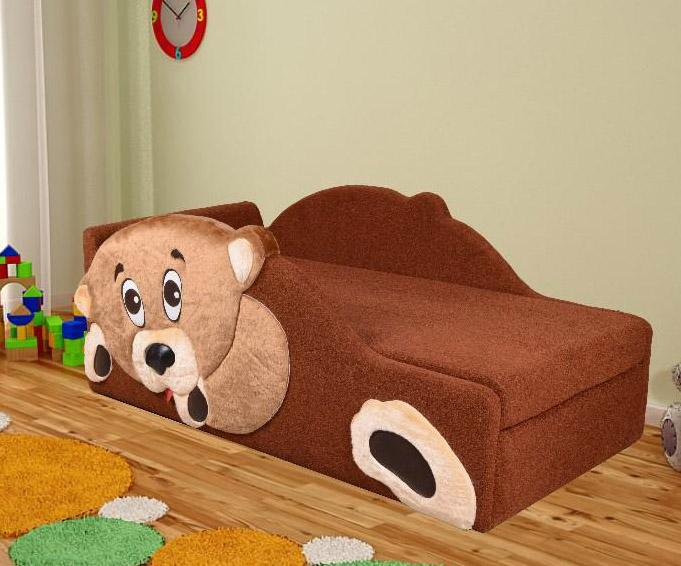 Детский диван тахта «Потапыч».