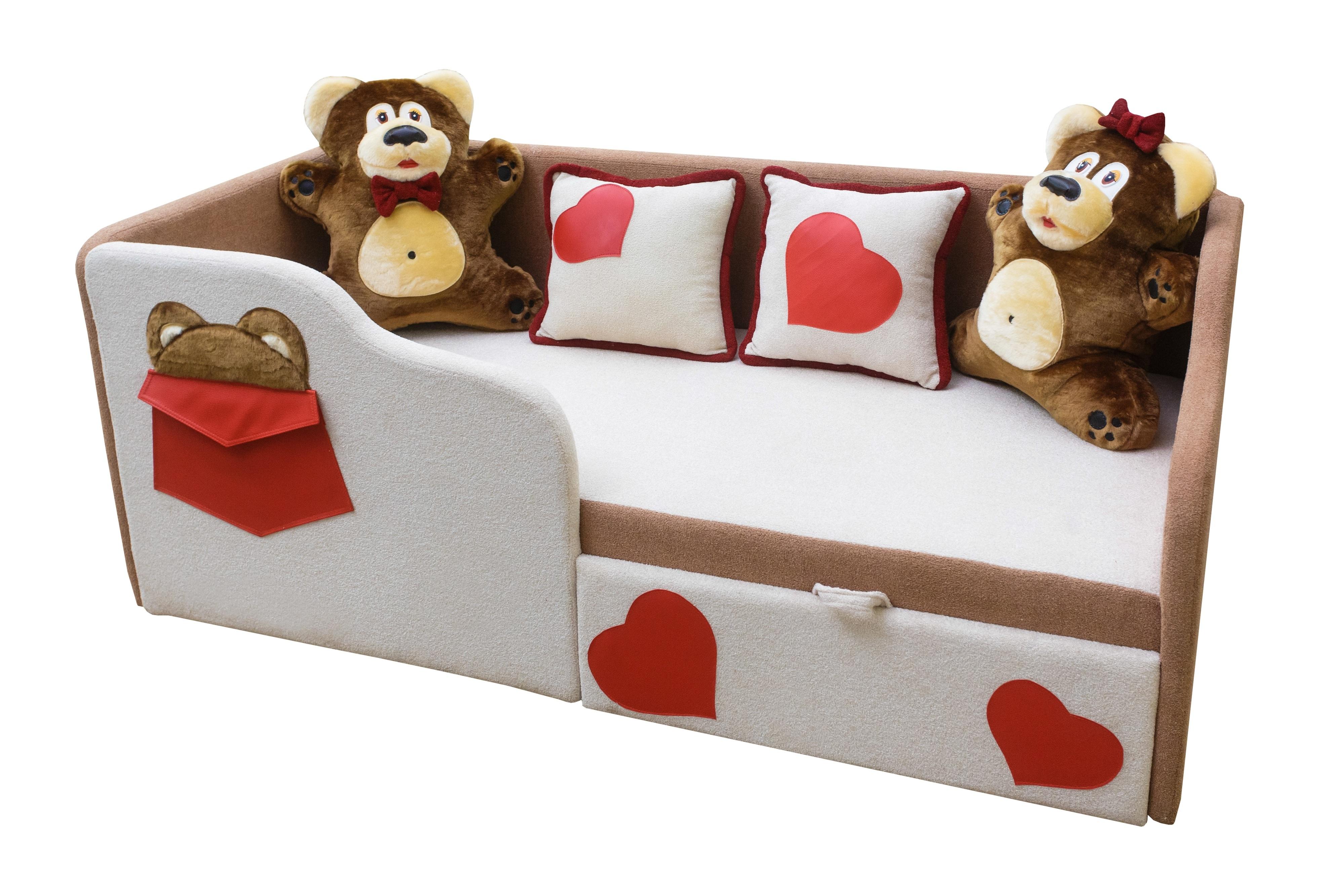 """Детский диван-кровать """"Тед""""."""
