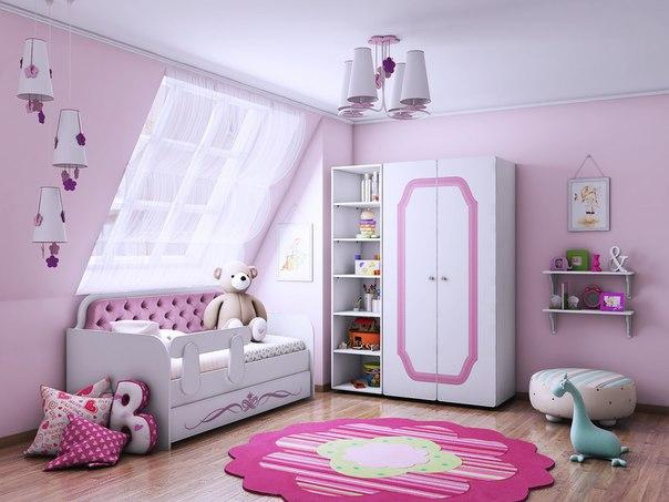 Детская комната Классик коллекция Орнамент.