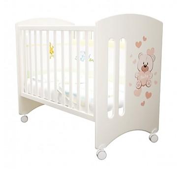 """Кроватка детская Laluca Софи """"Мишка Бэйби"""" (базовая)."""