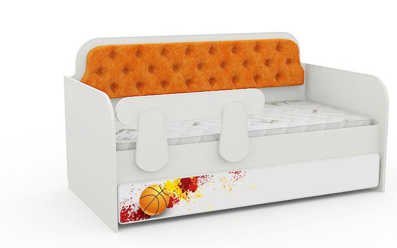Кровать-тахта детская 160Х80 коллекция Спорт.