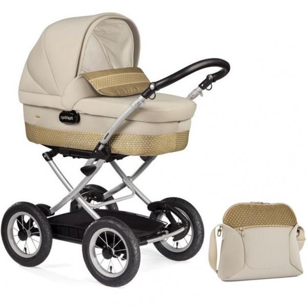 Коляска для новорожденных Peg-Perego Culla auto (шасси Velo)+сумка в подарок!