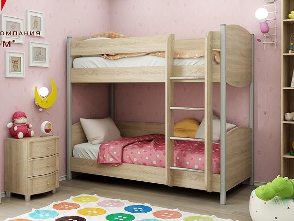 Кровать двухъярусная подростковая  арт. КР-123.