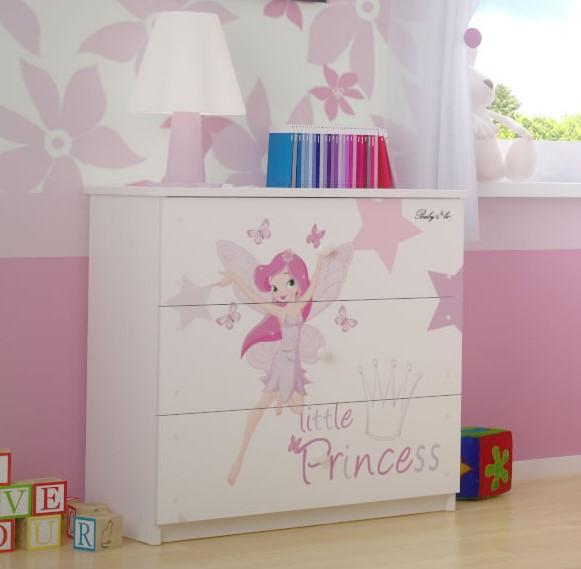 Комод детский серия Оскар Маленькая Принцесса.