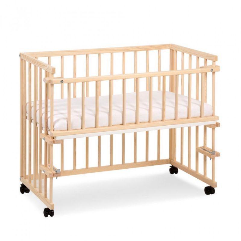 Детская приставная кроватка Klups Piccolo Duo sosna.