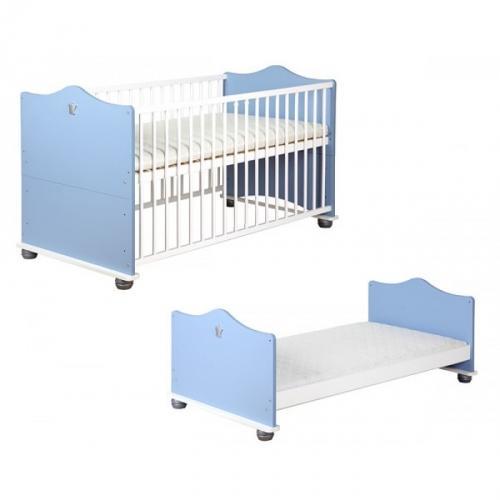 Детская кроватка трансформер KLUPS ПРИНЦ 140/70.