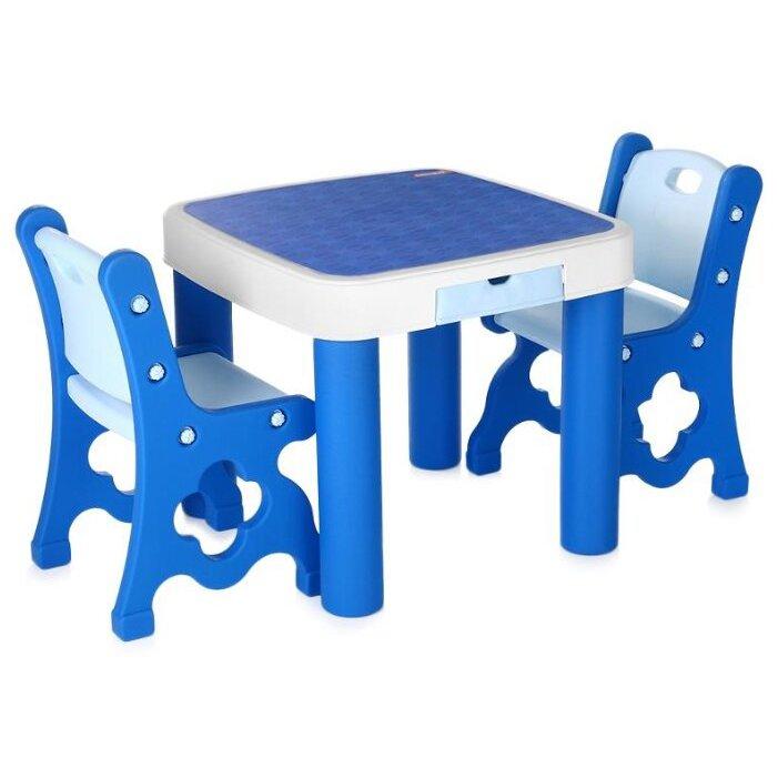 Десткий комплект мебели Edu-play столик и стульчики.