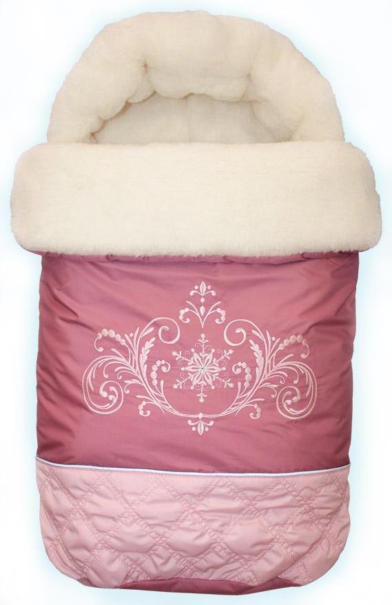 """Конверт для новорожденного """"Метелица"""" LITTLE PEOPLE розовый."""