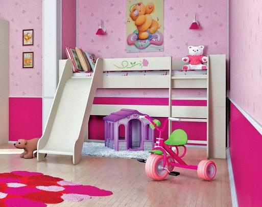 Кровать двухъярусная КРД120-2Д1.