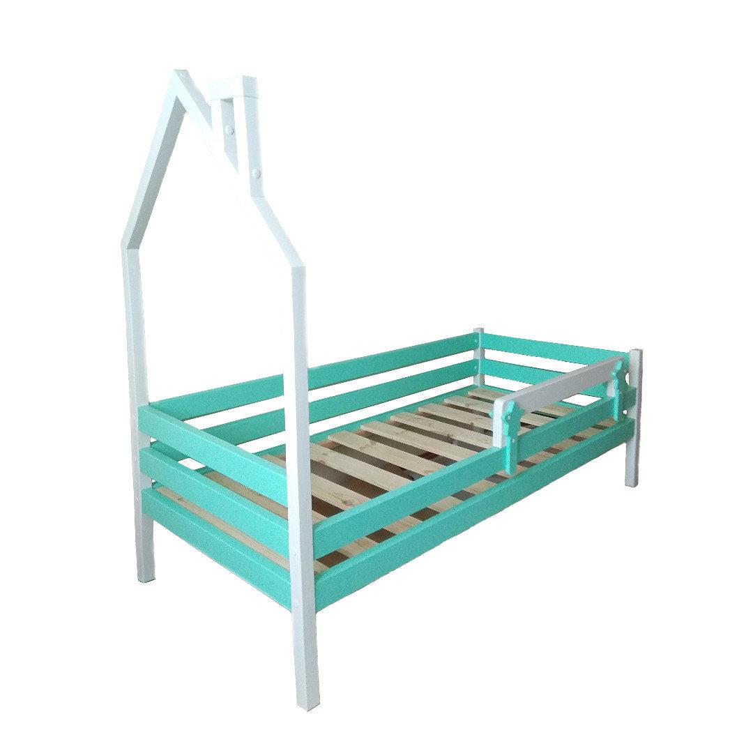 Кровать Домик 6 (Бортик безопасности в комплекте).