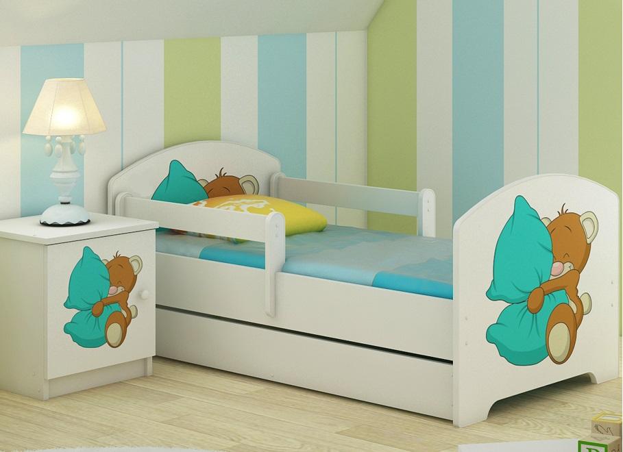 Набор детской мебели Оскар Мишка с подушкой.