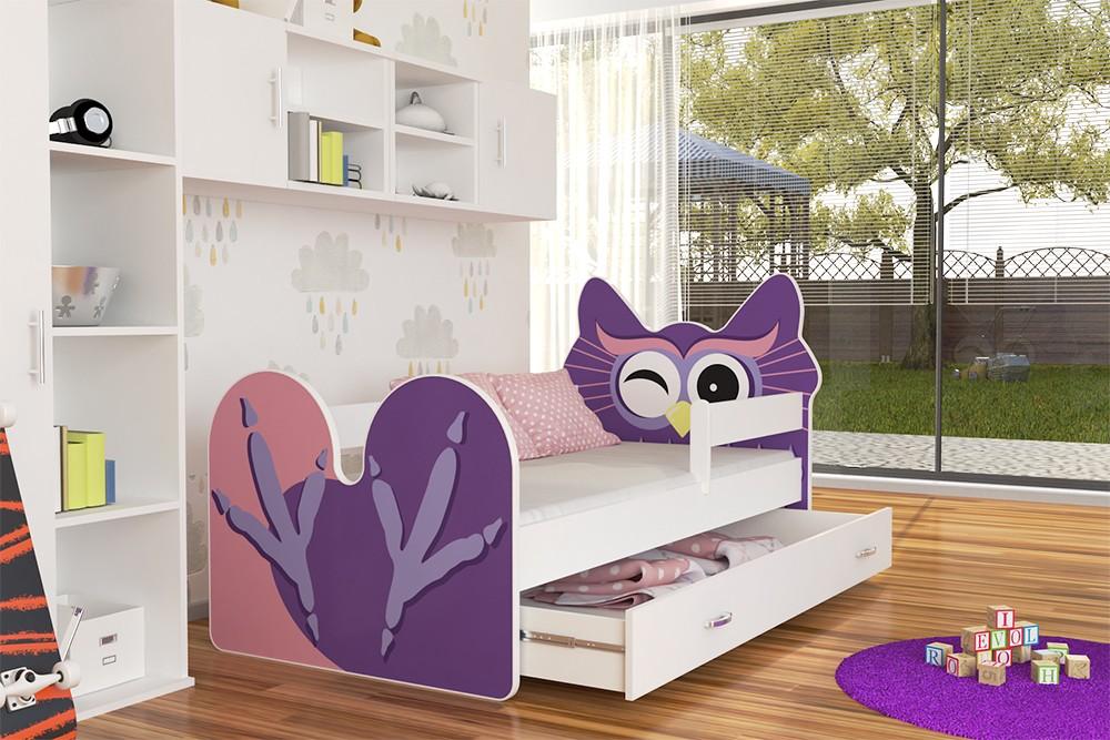 Детская кровать Сова.