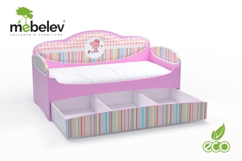Кровать детская Mia стандарт с ящиком.