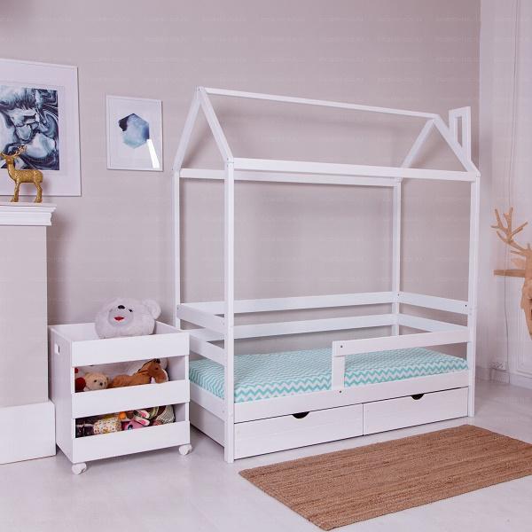 Кровать домик Incanto Dream Home с ящиком