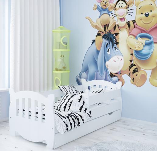 Кровать детская Куба с бортиками.