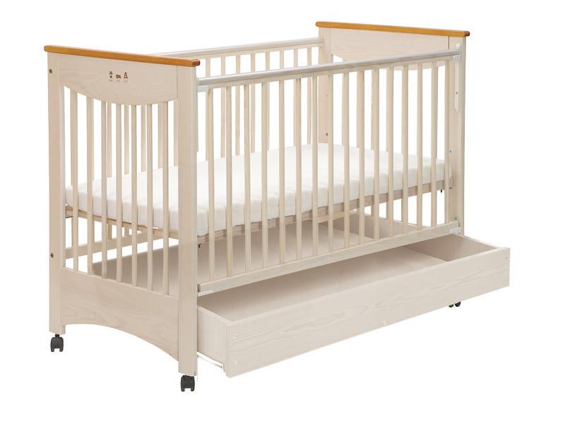 Детская кроватка Drewex Laura с ящиком.