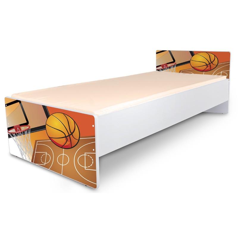 """Кровать подростковая Nobiko """"Спорт"""" с матрасом."""