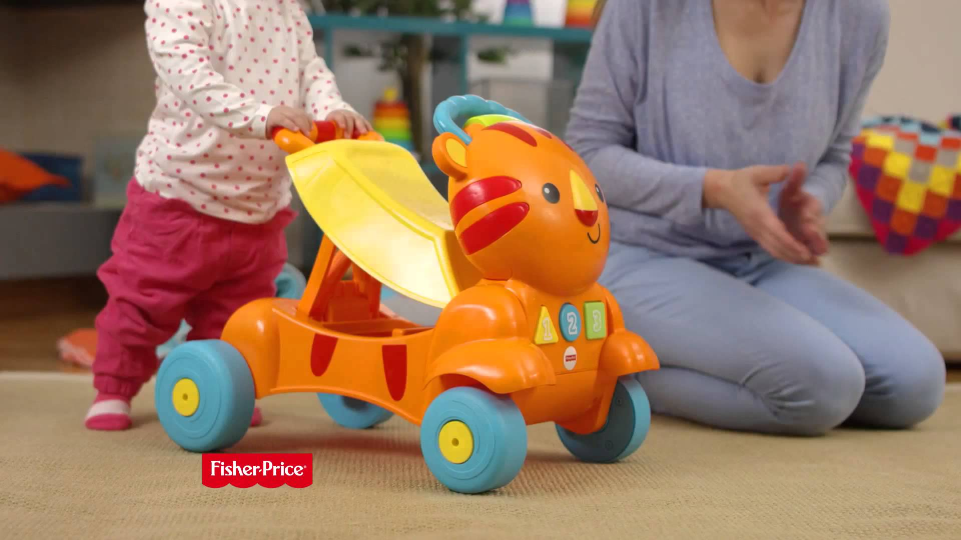 Ходунки Fisher-Price CLK85 Тигр.