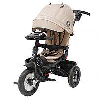 Трехколесный велосипед Mini Trike T400-17 BEIGE JEANS Бежевый