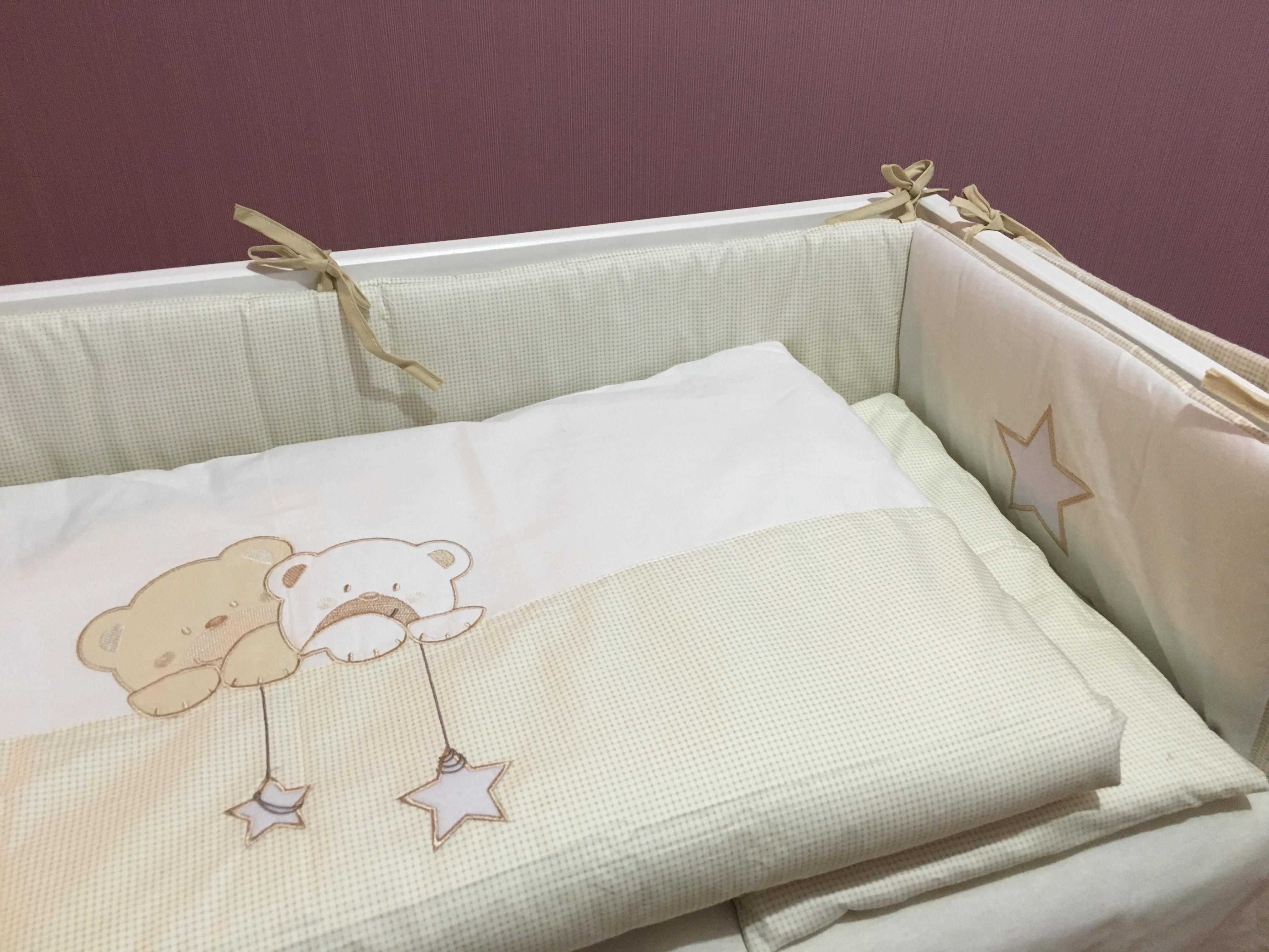 Детское постельное белье Piccolo с балдахином.