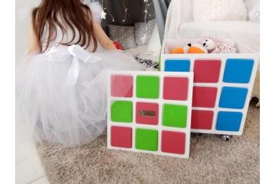 Ящик для игрушек Кубик-рубик.