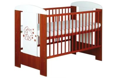 Детская кроватка Klups Safari Мишка цвет мед.