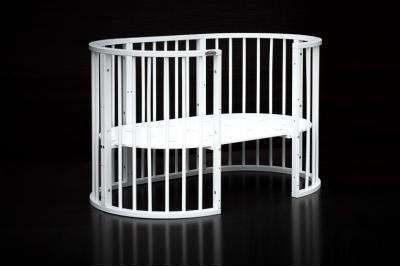 Детская круглая кроватка 7 в 1 арт.14.