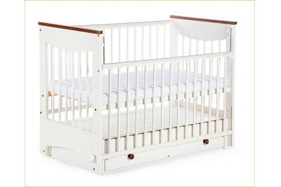 Детская кроватка KLUPS Luna (маятник с ящиком).