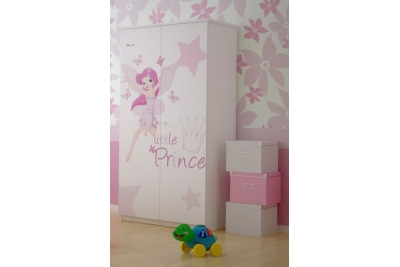 Шкаф в детскую серия Оскар Маленькая принцесса.