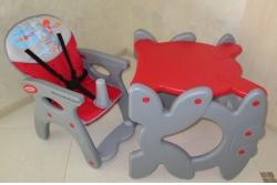 Стульчик - трансформер для кормления Beticco Red.
